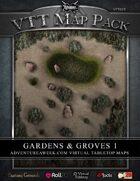 VTT MAP PACK: Gardens & Groves 1