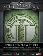 VTT MAP PACK: Spider Temple & Tower