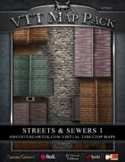 VTT MAP PACK: Streets & Sewers 1