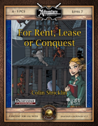 B20: For Rent, Lease, or Conquest (Fantasy Grounds)