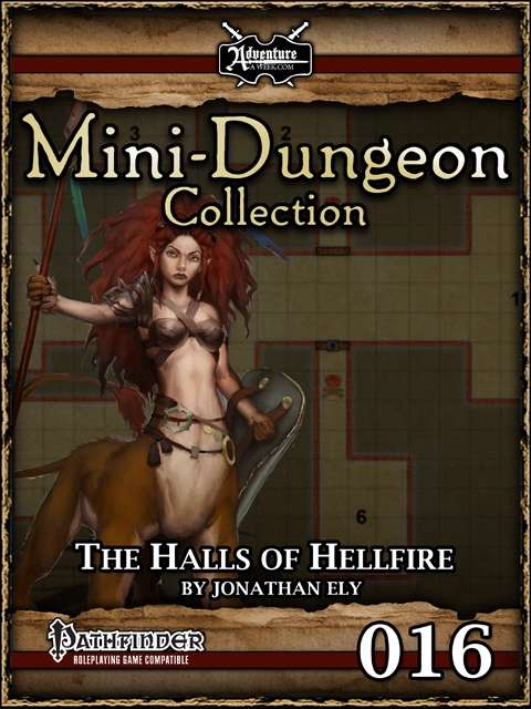 Mini-Dungeon #016: The Halls of Hellfire