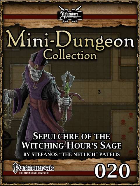 Mini-Dungeon #020: Sepulchre of the Witching Hour's Sage