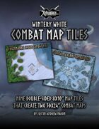 Wintery White: Combat Map Tiles