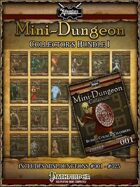 Mini-Dungeon Collection 1 (print)  [BUNDLE]