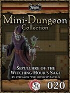 5E Mini-Dungeon #020: Sepulchre of the Witching Hour's Sage