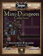 Mini-Dungeon #018: Neotomas' Paradise (Fantasy Grounds)