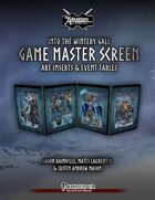 Into the Wintery Gale: Game Master Screen