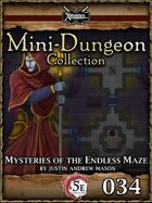 5E Mini-Dungeon #034: Mysteries of the Endless Maze
