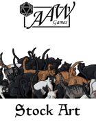 Stock Art: Cat Swarm