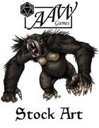 Stock Art: Dire Ape