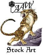 Stock Art: Dire Jaguar