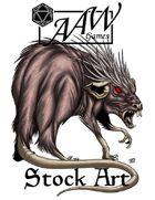 Stock Art: Dire Rat