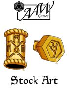 Stock Art: Beard Rings