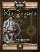 Mini-Dungeon #021: Daenyr's Return (Fantasy Grounds)