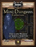 Mini-Dungeon #024: The Lapis Maiden of Serena Hortum (Fantasy Grounds)
