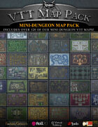 VTT MAP PACK: Mini-Dungeon Map Pack