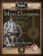 5E Mini-Dungeon #021: Daenyr's Return (Fantasy Grounds)