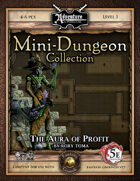 5E Mini-Dungeon #023: The Aura of Profit (Fantasy Grounds)