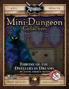5E Mini-Dungeon #028: Throne of the Dwellers in Dreams (Fantasy Grounds)