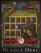 5E Mini-Dungeon Collection (print) [BUNDLE]