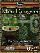 Mini-Dungeon #072: The Stuff of Dreams