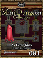 Mini-Dungeon #081: An Empire Given
