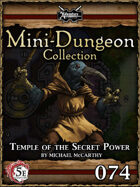 5E Mini-Dungeon #074: Temple of the Secret Power