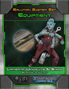 Star System Set: Salutian -- Lamerta Wingsuits & Ships (Equipment)