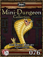 5E Mini-Dungeon #076: The Great Library