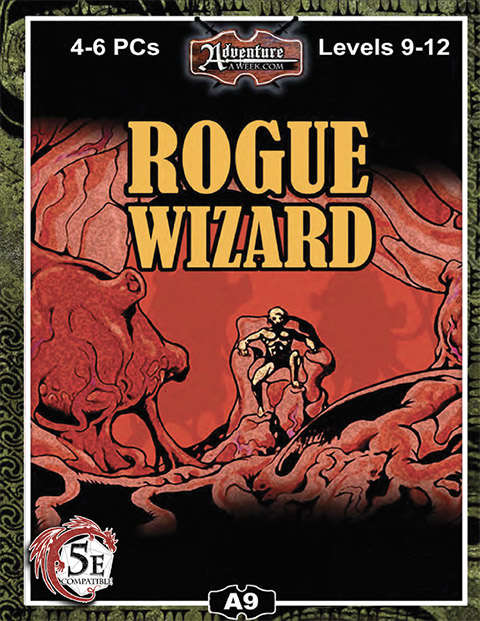 5E) A09: Rogue Wizard - AAW Games | A-SERIES | 5th Edition