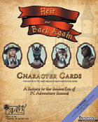Heir & Back Again -- Character Cards