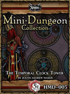 5E New Year's Eve Mini-Dungeon: The Temporal Clock Tower