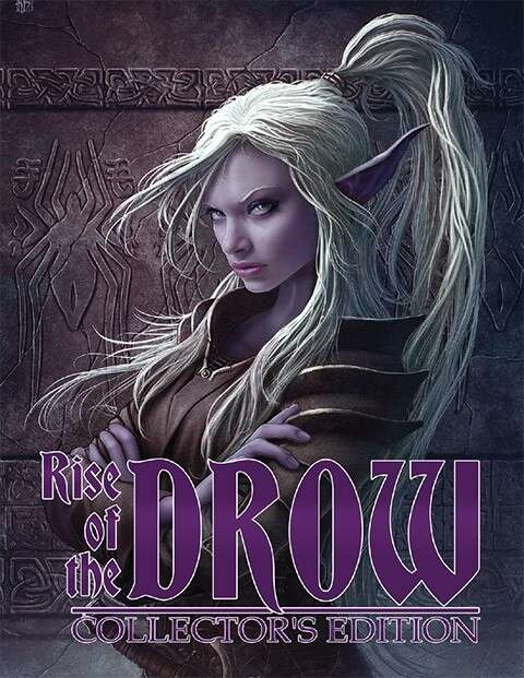 Cover of Rise of the Drow