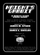 Knight's Gambit: A White Star Card Game