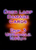 LARP Damage Cards Unspeakable Horrors