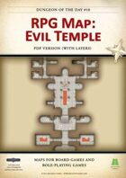 RPG Map 010: Evil Temple (pdf)