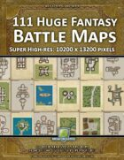 111 Huge Fantasy Battle Maps Collection