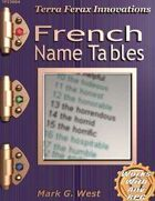 French Name Tables