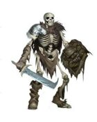 Inkwell Stock Art: Skeleton, Orc