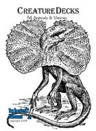 Creature Decks: Blank-backed Animals