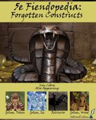 5e Fiendopedia: Forgotten Constructs