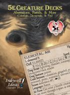 5e Creature Decks: Aberrations, Fiends, & More
