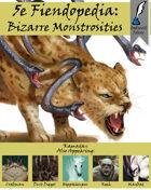 5e Fiendopedia: Bizarre Monstrosities