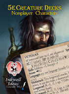 5e Creature Decks: Nonplayer Characters