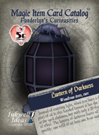 Magic Item Card Catalog: Panderlyn's Curiosities