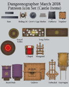Dungeonographer Castle Item Map Icons (Any Editor)