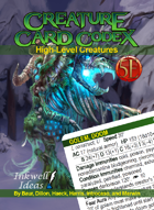 Creature Card Codex: High-Level Creatures