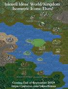 Worldographer Isometric Style Elven Map Icons