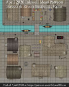 Worldographer Streets and Waterways World/Kingdom, Settlement, and Battlemat Map Icons