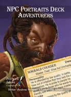 NPC Portraits Deck: Adventurers